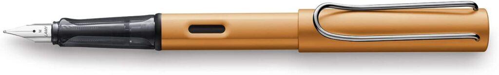 plumas estilográficas baratas de 20 a 50 €, plumas estilográficas baratas, LAMY Al Star Bronce Pluma Estilográfica (Fina Pluma) 027